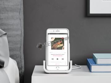 专为iPhone X设计的罗技无线充电器即将上市:售价69.99美元