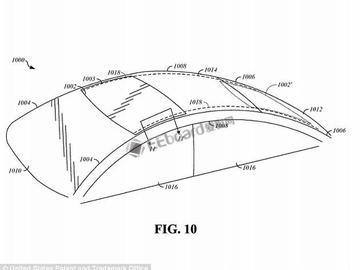 苹果无人驾驶汽车新专利:汽车座椅与天窗