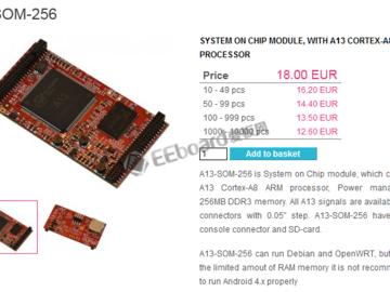 仅一美元的处理器就能运行Linux