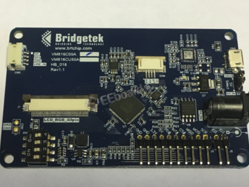 Bridgetek推出信用卡大小的人机介面开发模块