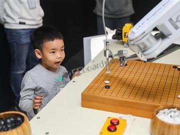 华为Mate 20打造AI围棋机械臂:与世界冠军博弈,麒麟980助力