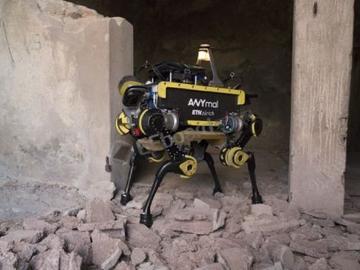 瑞典四足机器人ANYmal开启极端环境作业测试