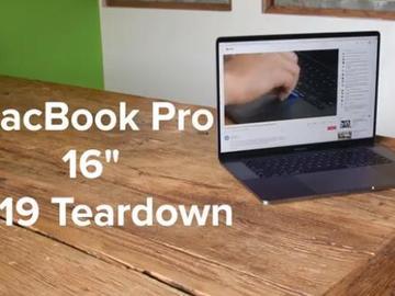 2019年MacBook Pro 16英寸拆解视频,不止于大