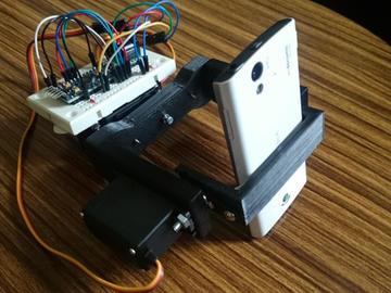 基于KXR94-2050以及Arduino开发板设计一个伺服相机云台电路方案
