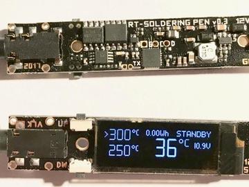 教你動手diy一個電池供電的開源RT焊筆