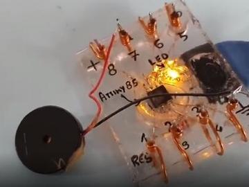 基于Attiny85微控制器的4个简单但有创意的项目diy