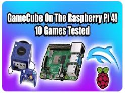 一招搞定娱乐,在树莓派4B上运行原生态的GameCube游戏