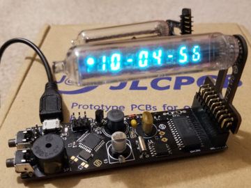 DIY一个基于IV-21的VFD管的数字时钟方案