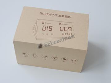 简约纯粹,高精度激光传感器助阵——PM2.5室内外环境监测仪评测拆解