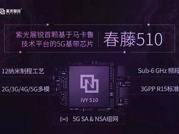 中国在同一天威武两次,紫光春藤510 国产5G芯片商用在即