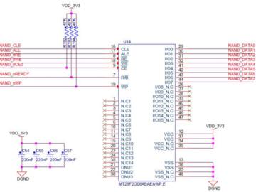 基于恩智浦i.MX6UL 和 i.MX6ULL处理器的FLASH电路设计