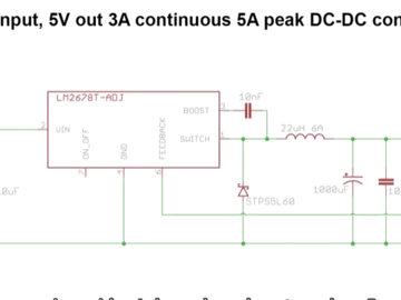 如何构建使用LM2678高电流可调电源
