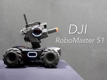 大疆机甲大师RoboMaster S1上的麦克纳姆轮到底是什么原理?