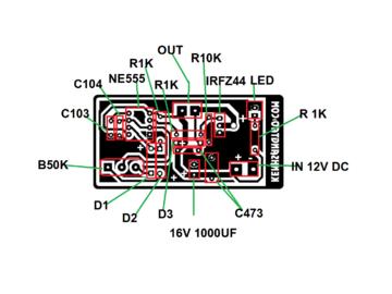 在家自制直流电机调速器(内附电路图)