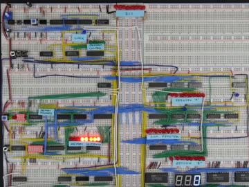 [系列教程]国外大神带你用面包板制作8-bit计算机(寄存器1)