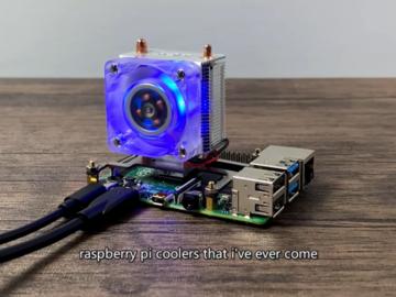 【测评】榨干树莓派4-火爆国外的Pi 4冷却器