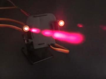 【基础教程】使用Arduino+伺服电机制作激光炮塔