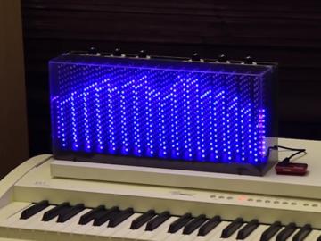 [项目实录]用1280个led和PIC32开发板制作可控光立方音乐频谱(附最详细的光立方图文教程、电路图及代码)