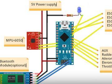 使用Arduino Nano构建一个多旋翼无人机飞控