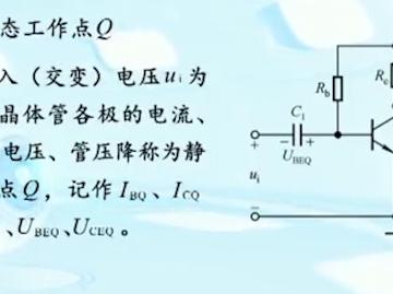 什么是静态工作点Q?
