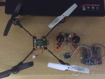电路城每周方案精?。?.24-6.30):手势识别体感控制四轴飞行器;网友自制的JLINK-V9