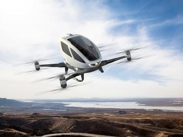 空中的士即将起飞,未来交通不再拥堵