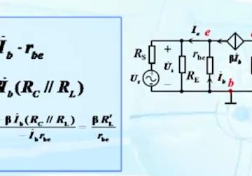 共基极放大电路动态分析