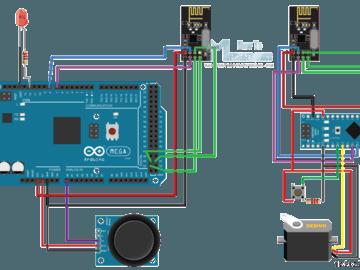 【项目教程】使用NRF24L01收发器模块在两个Arduino板之间进行无线通信(附电路图及源代码)
