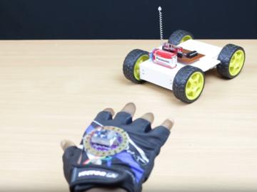 [项目实录]DIY手势控制小车(原理图+源代码)