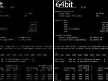 树莓派32位系统与64系统性能对比:差距大到难以想象