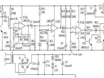 基于红外传感器的防盗报警器电路设计