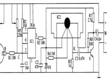 基于气敏传感器的烟雾报警器原理图设计