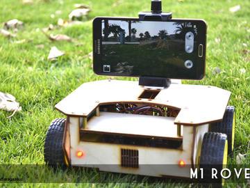 M1  Rover:无人自动驾驶机器人,与Arduino兼容