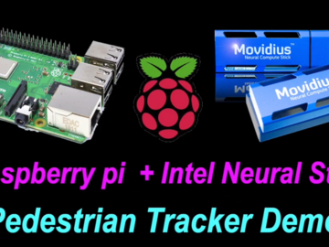 樹莓派4B與英特爾神經計算棒2實現人體跟蹤計數