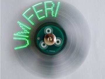 POV Fidget微調器,論視覺固定工具旋轉器的持久性