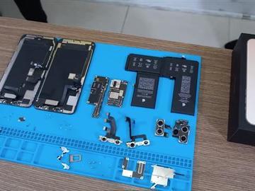 iPhone 11 Pro Max拆解:单块L型电池、3969mAh 电池容量实锤