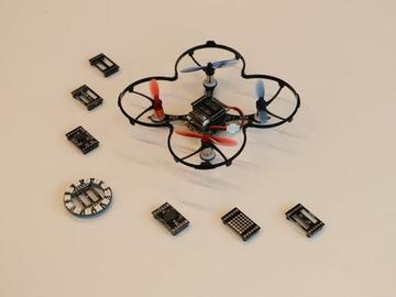 掌上无人机DIY:精致小巧、具有避障和手动控制功能的无人机