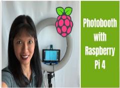 美女用樹莓派4B DIY一個自拍裝置,即便是在黑暗中也能游刃有余的自拍