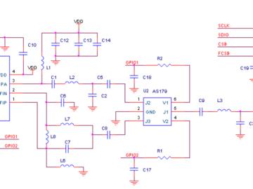 基于CMT2300A的开关射频匹配网络电路设计