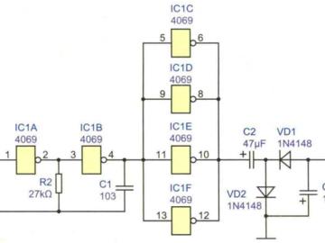 正负电压转换电路设计