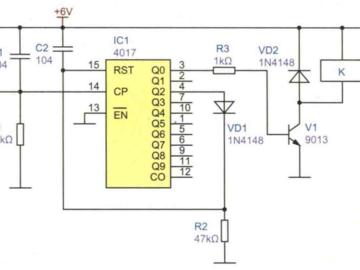 按键控制开关电路设计