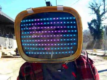 """Tvhead,做一個行走在街道上的人工智能""""機器人"""""""