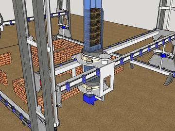 ALEKYA - 开源建筑机器人,旨在利用发展中国家的当地建筑材料实现建筑施工的自动化