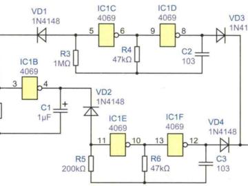 警笛发生器电路方案设计
