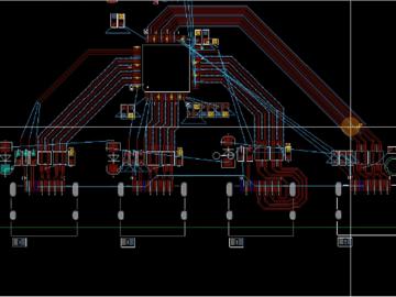 其它信号线处理与电源分割处理