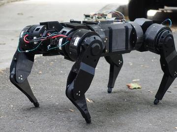 人人都可以diy的开源动态四足机器人mjbots quad A0