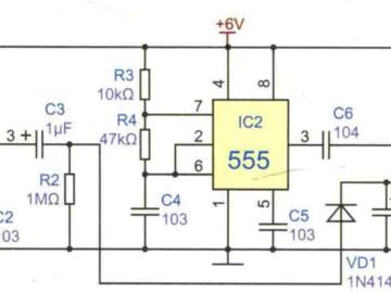 碰铃节拍器电路方案设计