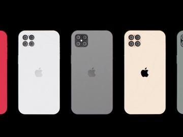 iPhone 12 Pro曝光:类似iPhone 4s外观、无刘海、四摄