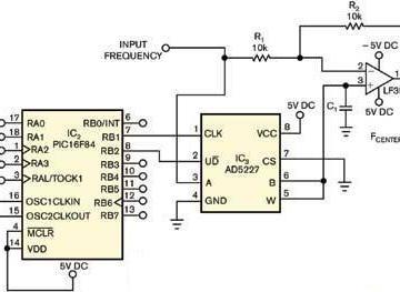 微控制器控制模拟移相器设计电路