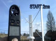 DIY一个简单的垂直轴风力发电机VAWT